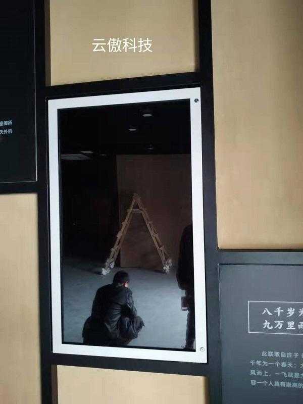 大宋古镇博物馆透明屏展柜