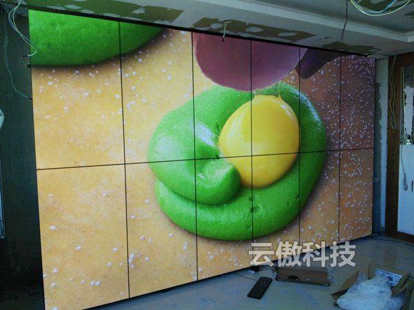 内蒙人民医院拼接屏项目 (2)